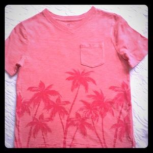 Other - boys Gap short sleeve shirt size M palm trees